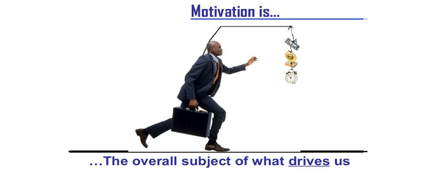 Is motivation an internal job or external job?